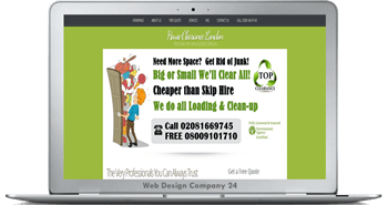 Web Design Porfolio: Top Clearance