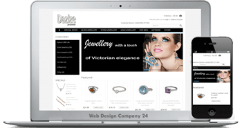 Web Design Porfolio: Dazlze Jeweller