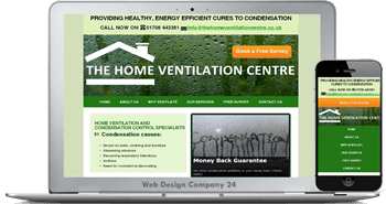 Web Design Porfolio: Home Ventilation Centre