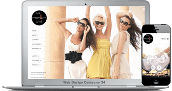 Web Design Porfolio: Top Fashion Shop