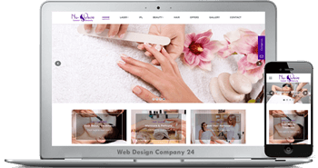 Web Design Porfolio: nu-wave laser & beauty