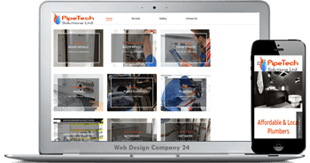 Web Design Porfolio: PipeTech